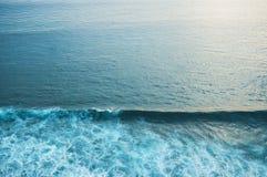 Άποψη επιφάνειας θάλασσας Στοκ φωτογραφία με δικαίωμα ελεύθερης χρήσης