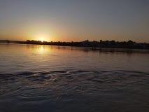 Άποψη ηλιοβασιλέματος στοκ εικόνες