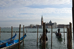 Άποψη ημέρας πόλεων της Βενετίας Στοκ Εικόνες
