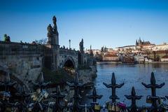 Άποψη 1 ημέρας της Πράγας Στοκ εικόνα με δικαίωμα ελεύθερης χρήσης