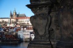 Άποψη 2 ημέρας της Πράγας Στοκ εικόνα με δικαίωμα ελεύθερης χρήσης