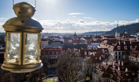 Άποψη 3 ημέρας της Πράγας Στοκ φωτογραφίες με δικαίωμα ελεύθερης χρήσης