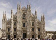 Άποψη ημέρας του καθεδρικού ναού Duomo Στοκ Εικόνες