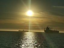 Άποψη ηλιοβασιλέματος Στοκ φωτογραφία με δικαίωμα ελεύθερης χρήσης
