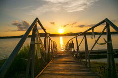 Άποψη ηλιοβασιλέματος στοκ εικόνα με δικαίωμα ελεύθερης χρήσης