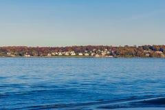Άποψη θάλασσας σημείου άμμων στοκ φωτογραφία με δικαίωμα ελεύθερης χρήσης