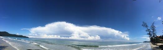 Άποψη θάλασσας Tru στοκ φωτογραφία