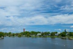 Άποψη θάλασσας από το κάστρο Kalmar Στοκ εικόνες με δικαίωμα ελεύθερης χρήσης