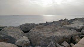 Άποψη θάλασσας από το Ras Al Khaimah Στοκ Εικόνα