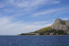 Άποψη θάλασσας, διάσπαση Στοκ φωτογραφίες με δικαίωμα ελεύθερης χρήσης