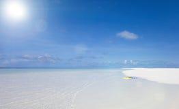 Άποψη θάλασσας το απόγευμα Στοκ εικόνες με δικαίωμα ελεύθερης χρήσης