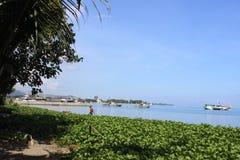 Άποψη λιμένων Τιμόρ-Leste, Motael και Dili Στοκ φωτογραφία με δικαίωμα ελεύθερης χρήσης