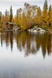Άποψη λιμνών από το Lapland Στοκ Φωτογραφίες