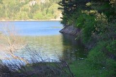 Άποψη λιμνών φραγμάτων Στοκ εικόνα με δικαίωμα ελεύθερης χρήσης