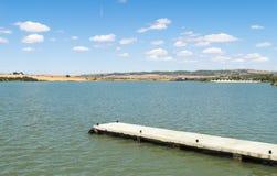 Άποψη λιμνών Arcos de του Λα Frontera, Ισπανία Στοκ φωτογραφία με δικαίωμα ελεύθερης χρήσης