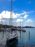 Άποψη λιμνών Balaton Στοκ φωτογραφίες με δικαίωμα ελεύθερης χρήσης