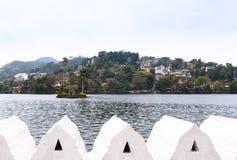 Άποψη λιμνών Kandy Στοκ φωτογραφία με δικαίωμα ελεύθερης χρήσης