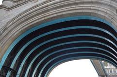 Άποψη κάτω από μιας γέφυρας Στοκ Εικόνες