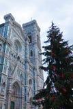 Άποψη καθεδρικών ναών της Φλωρεντίας, ιταλικό ορόσημο στοκ φωτογραφία με δικαίωμα ελεύθερης χρήσης