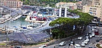 Άποψη κοντά στο κύκλωμα Grand Prix Στοκ φωτογραφία με δικαίωμα ελεύθερης χρήσης