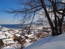 Άποψη κορυφών υψώματος Στοκ εικόνα με δικαίωμα ελεύθερης χρήσης