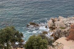 Άποψη κοστουμιών Dubrovnik Στοκ Εικόνες