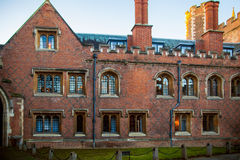 Άποψη κολλεγίων τριάδας, Καίμπριτζ Στοκ φωτογραφίες με δικαίωμα ελεύθερης χρήσης