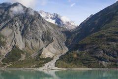 Άποψη κόλπων παγετώνων στοκ φωτογραφία με δικαίωμα ελεύθερης χρήσης