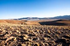 Άποψη λιμνοθαλασσών Morejon, Βολιβία Στοκ εικόνες με δικαίωμα ελεύθερης χρήσης