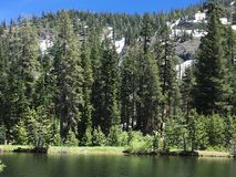 Άποψη λιμνών βουνών στοκ φωτογραφίες με δικαίωμα ελεύθερης χρήσης