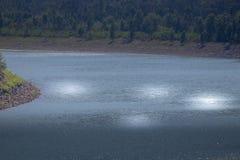 Άποψη λιμνών με το karnataka τοπίων του Στοκ φωτογραφία με δικαίωμα ελεύθερης χρήσης