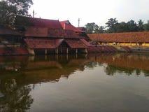 Άποψη λιμνών ναών krishna Ambalapuzha στοκ εικόνες