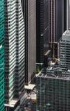 Άποψη ματιών πουλιών εικονικής παράστασης πόλης της Νέας Υόρκης Στοκ φωτογραφίες με δικαίωμα ελεύθερης χρήσης