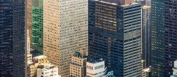 Άποψη ματιών πουλιών εικονικής παράστασης πόλης της Νέας Υόρκης Στοκ φωτογραφία με δικαίωμα ελεύθερης χρήσης