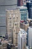 Άποψη ματιών πουλιών της Νέας Υόρκης Στοκ Φωτογραφίες