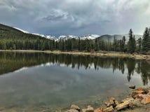 Άποψη μερικών βουνών του Κολοράντο στοκ εικόνες