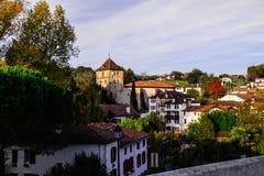 Άποψη μιας του χωριού γειτονιάς στοκ εικόνες με δικαίωμα ελεύθερης χρήσης