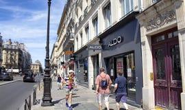 Άποψη μια από τη σημαντικότερη και πιό πολυάσχολη οδό Στοκ φωτογραφία με δικαίωμα ελεύθερης χρήσης