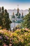 Άποψη μοναστηριών Vydubychi Στοκ φωτογραφίες με δικαίωμα ελεύθερης χρήσης
