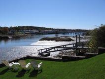 Άποψη νερού Στοκ εικόνα με δικαίωμα ελεύθερης χρήσης