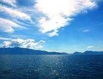 Άποψη νησιών στην Ελλάδα Στοκ Εικόνες