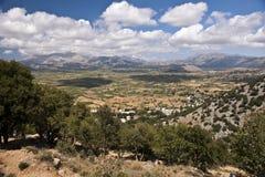 Άποψη νησιών της Κρήτης Στοκ Φωτογραφία