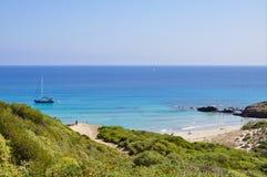 Άποψη νησιών Menorca Στοκ Εικόνες