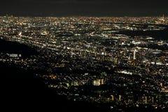 10 άποψη νύχτας εκατομμύριο δολαρίων του Kobe Στοκ Φωτογραφία