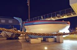 Άποψη νύχτας στη διάσημη βάρκα λέμβων στοκ φωτογραφίες