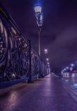 Άποψη νύχτας της πόλης της Μόσχας Στοκ φωτογραφίες με δικαίωμα ελεύθερης χρήσης