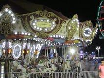 Άποψη νύχτας του αθλητικού φεστιβάλ νεολαίας του βόρειου Brunswick σε NJ ΗΠΑ Ð « Στοκ εικόνες με δικαίωμα ελεύθερης χρήσης