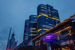 Άποψη νύχτας του Σίδνεϊ στοκ εικόνα με δικαίωμα ελεύθερης χρήσης