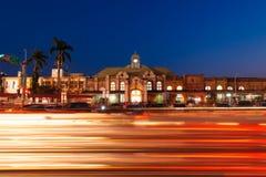 Άποψη νύχτας του σταθμού Hsinchu Στοκ εικόνες με δικαίωμα ελεύθερης χρήσης