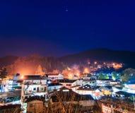 Άποψη νύχτας του ANG Khang Doi στην επαρχία Chiang Mai Στοκ φωτογραφία με δικαίωμα ελεύθερης χρήσης